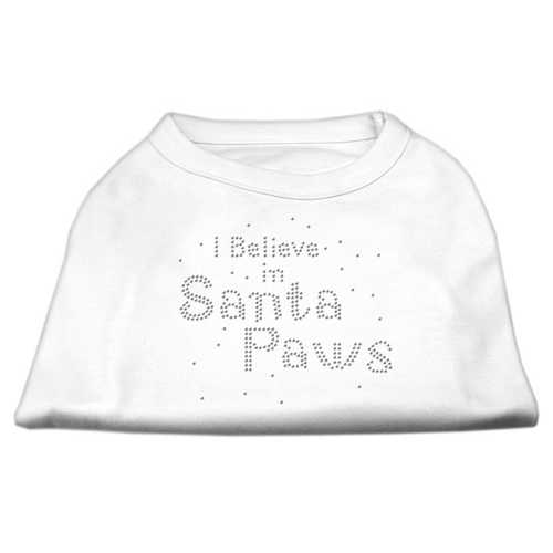 I Believe in Santa Paws Shirt White XL (16)