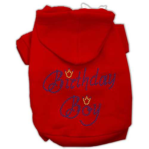 Birthday Boy Hoodies Red S (10)