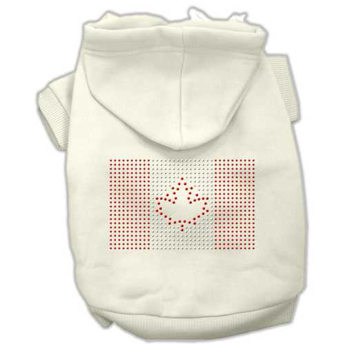 Canadian Flag Hoodies Cream XL (16)