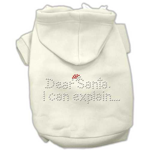 Dear Santa I Can Explain Hoodies Cream XL (16)