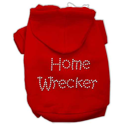 Home Wrecker Hoodies Red XL (16)