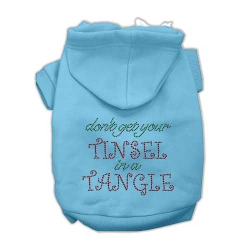 Tinsel in a Tangle Rhinestone Hoodies Baby Blue XL (16)