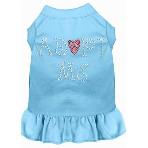 Adopt Me Rhinestone Dress Baby Blue Lg (14)
