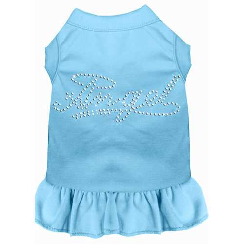 Rhinestone Angel Dress Baby Blue 4X (22)