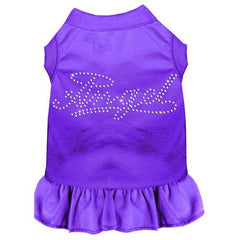 Rhinestone Angel Dress Purple 4X (22)