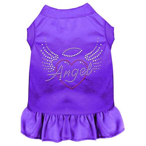 Angel Heart Rhinestone Dress Purple XXXL (20)