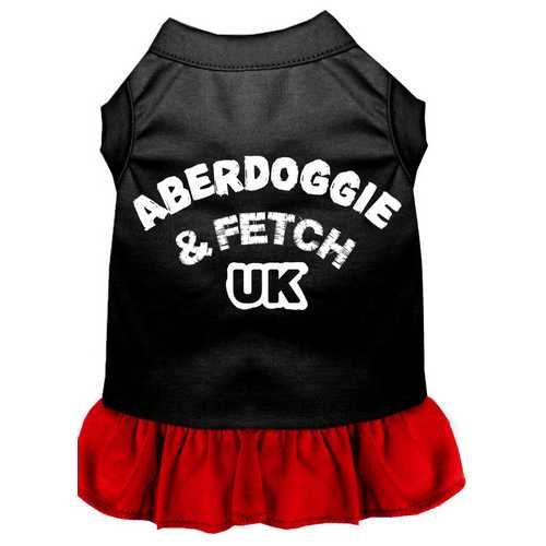 Aberdoggie UK Dresses Black with Red XXL (18)