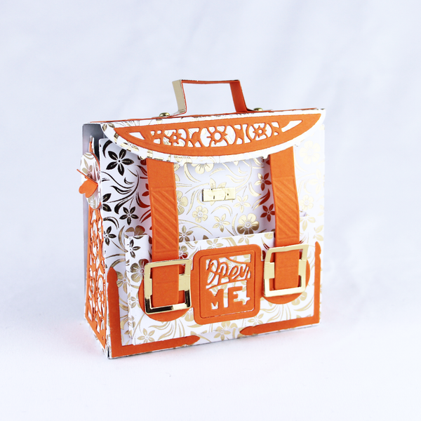 Memory Book Satchel Gift Boxes