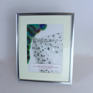 Dragonfly Mixed Media Frame