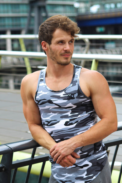 MEN'S STRINGER GREY CAMO