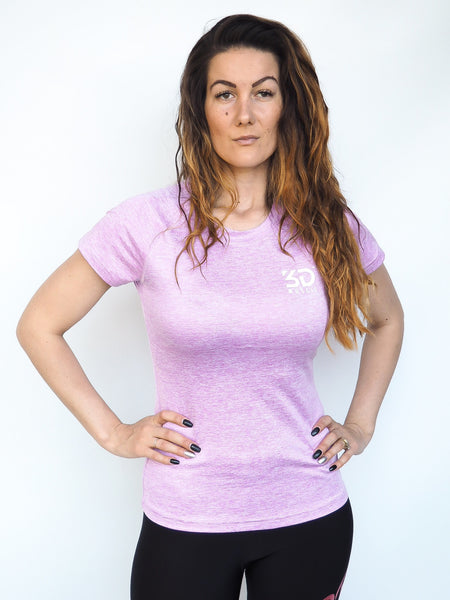LIGHTWEIGHT T-SHIRT LILAC