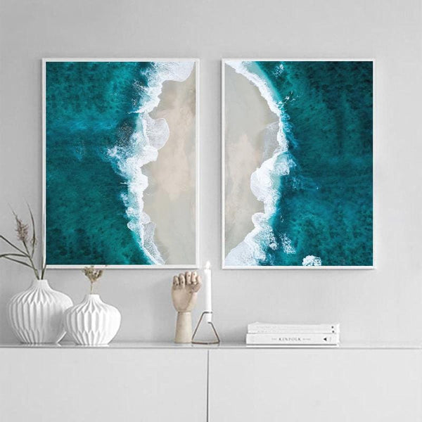 Ocean Waves Canvas Collection