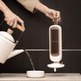 Retro Ice Mist Tower Fan