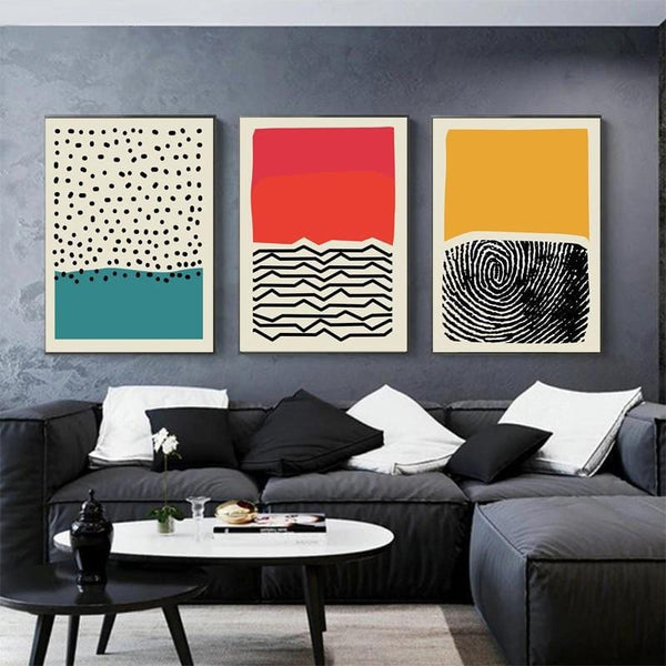 Abstract Expression Canvas Collection