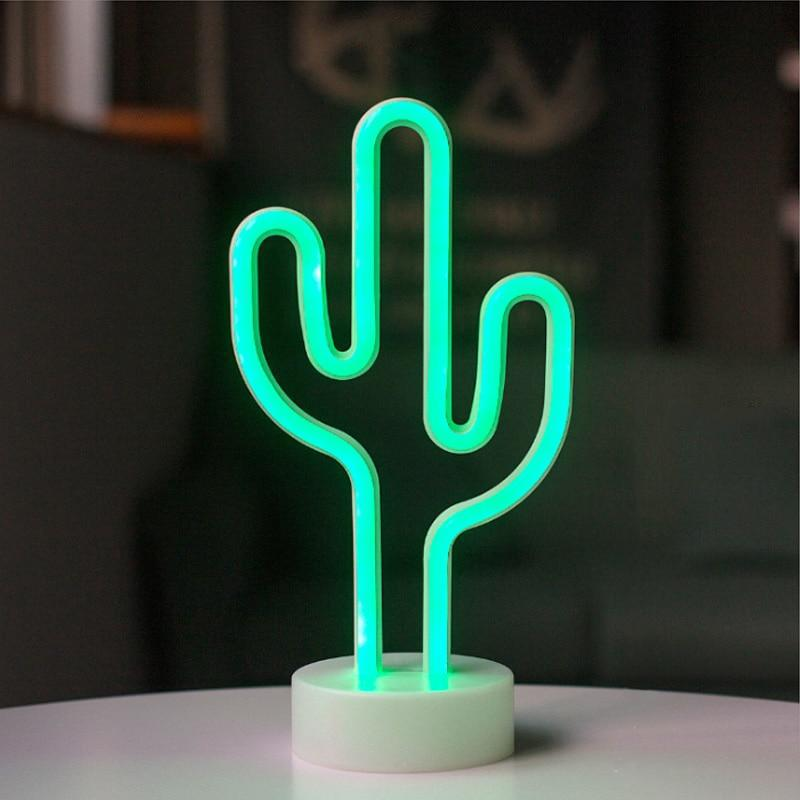 Cactus LED Nightlight