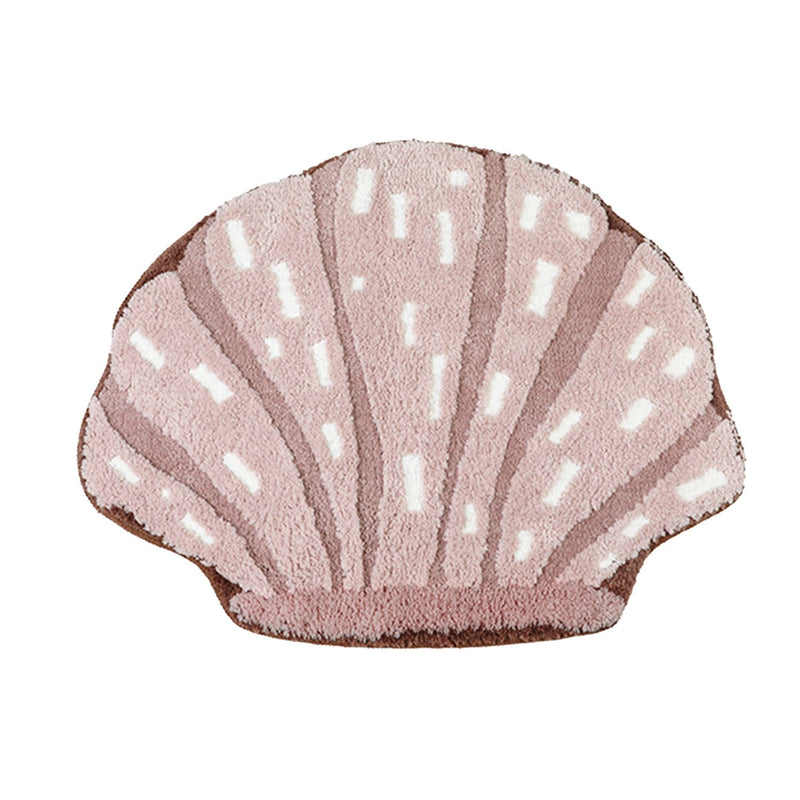 Fluffy Sea Shell Rug