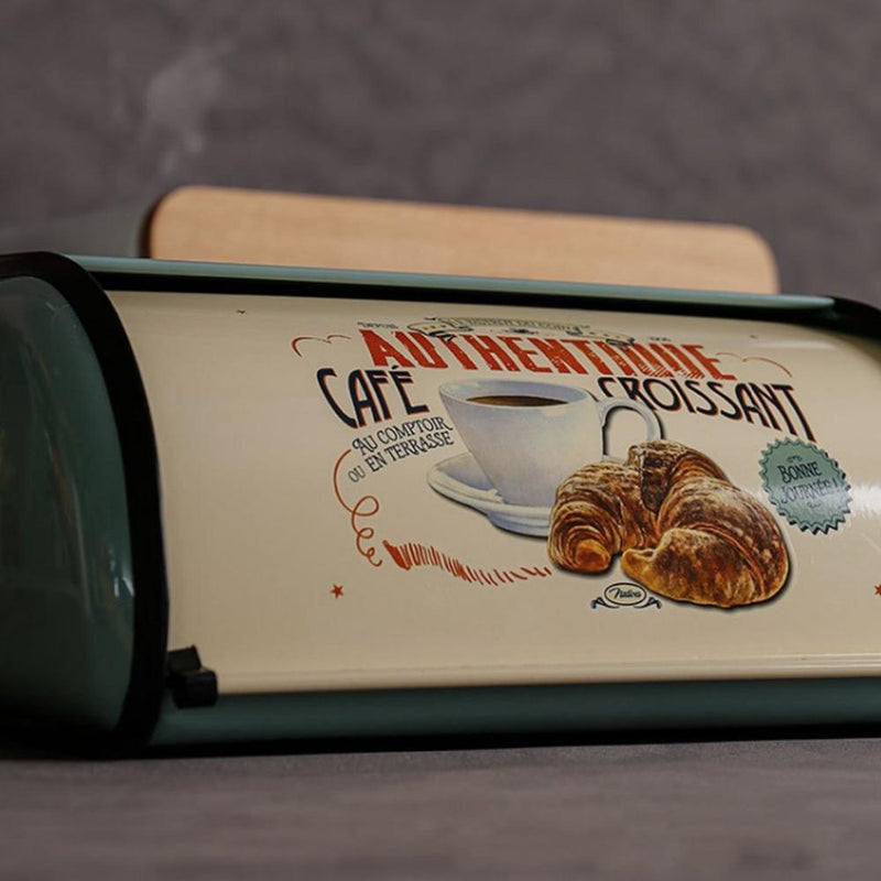 Vintage Parisian Bread Box