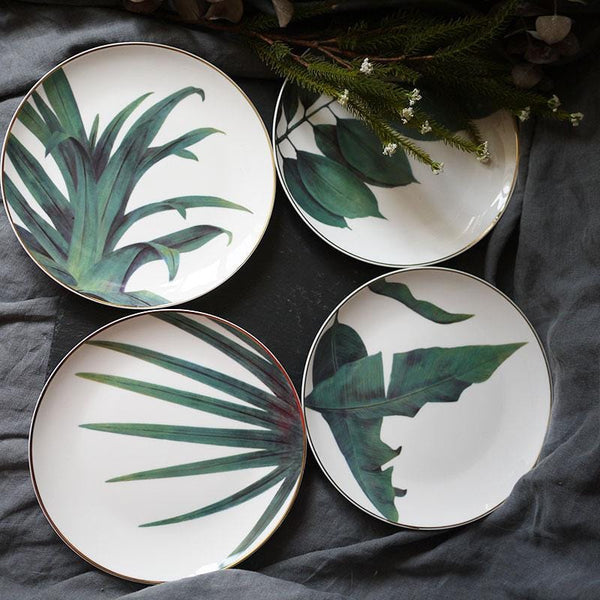 Jungle Ceramic Plate
