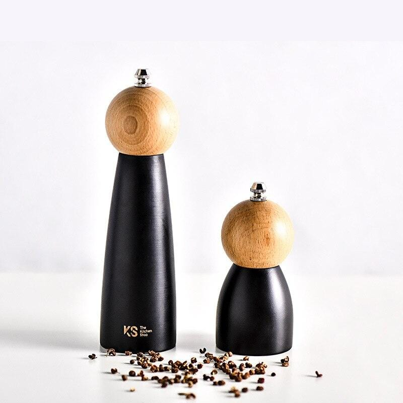 Wood and Ceramic Spice Grinder