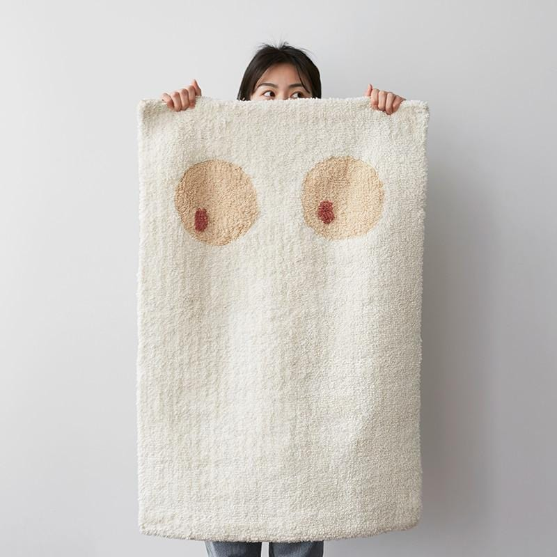 Au Naturale Double-Sided Blanket Rug