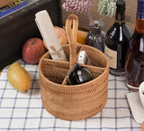 Handcrafted Wine and Bread Basket