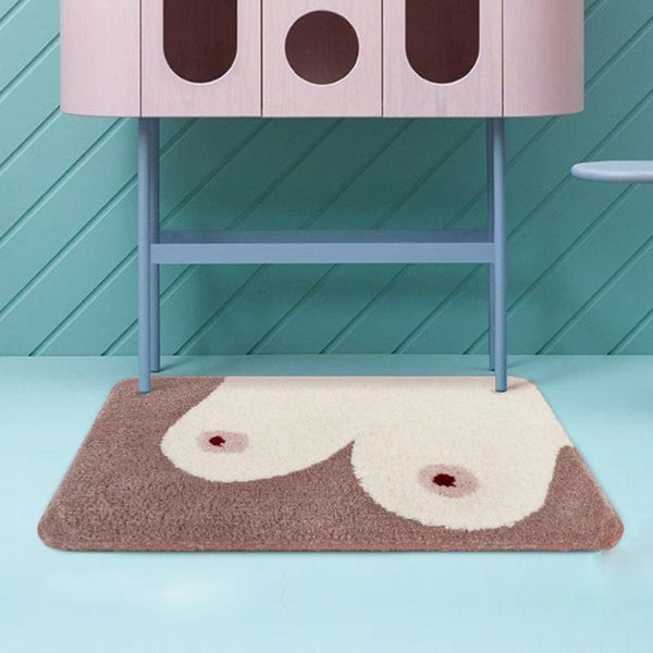 Naughty Get Naked Bathroom Rug