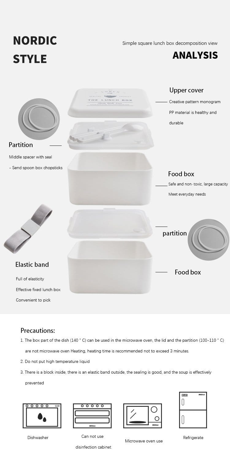 Minimalist Lunch Box