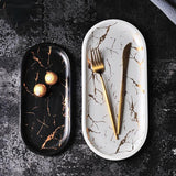 Marble Oval Tray