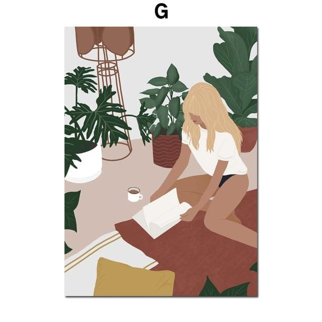 Modern Girl Canvas Collection