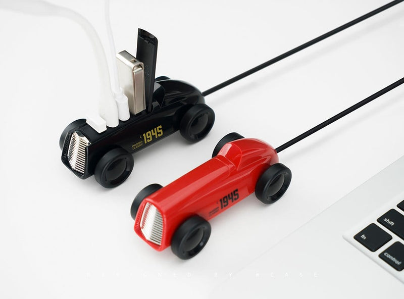 Retro-Styled Car USB Splitter