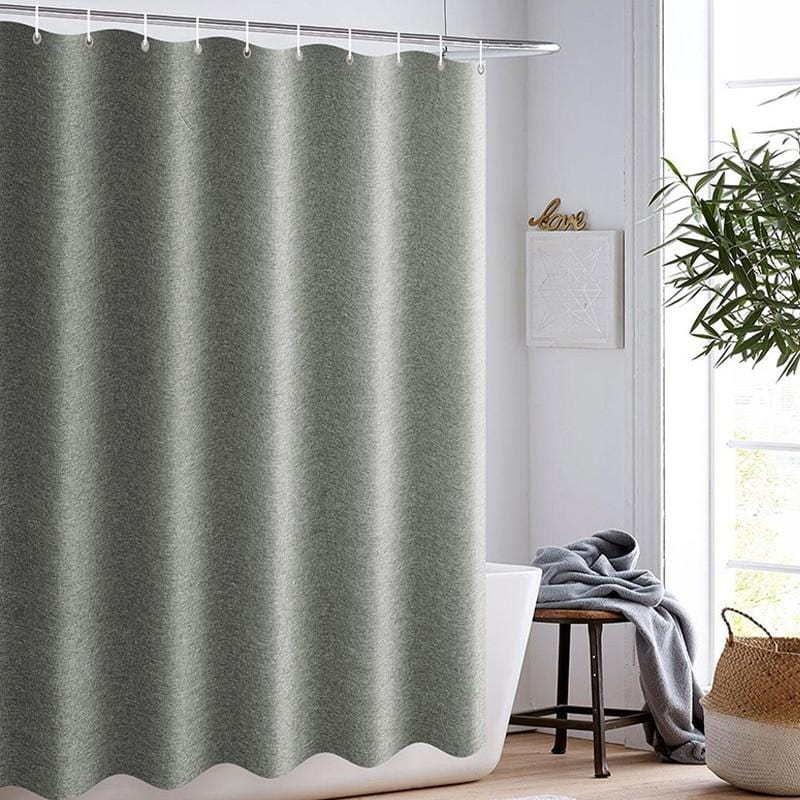 Luxury Linen Shower Curtains