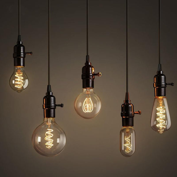 Retro Edison Light Bulb Collection, LED Filament