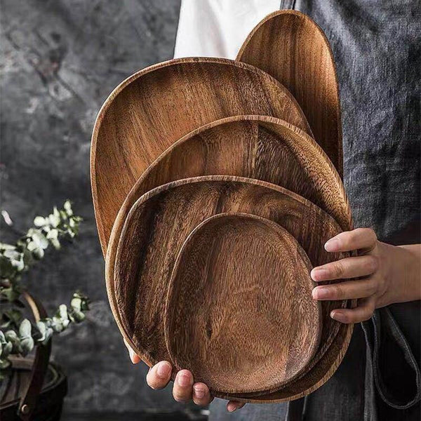 Acacia Wooden Plate