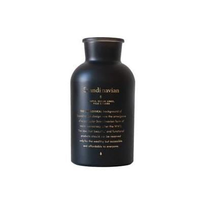 Midnight Black Table Vase