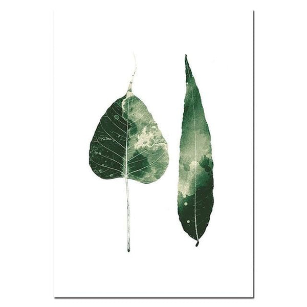 Botanical Leaves Canvas Collection