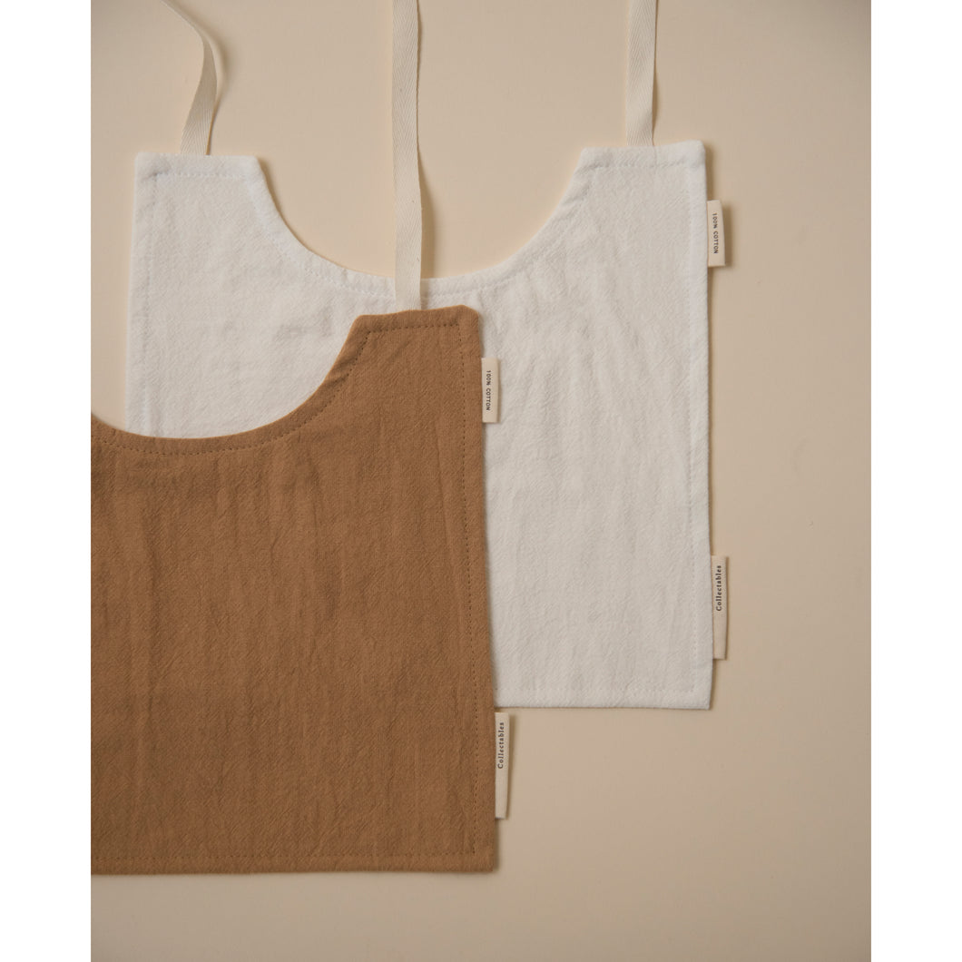 Bib set Cinnamon+Milk