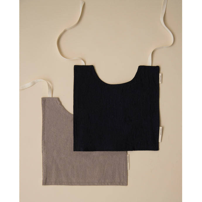 Bib set Pebble+Midnight