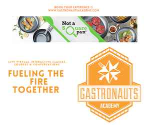 Gastronauts Academy & Not a Square Pan Cookwear to Partner