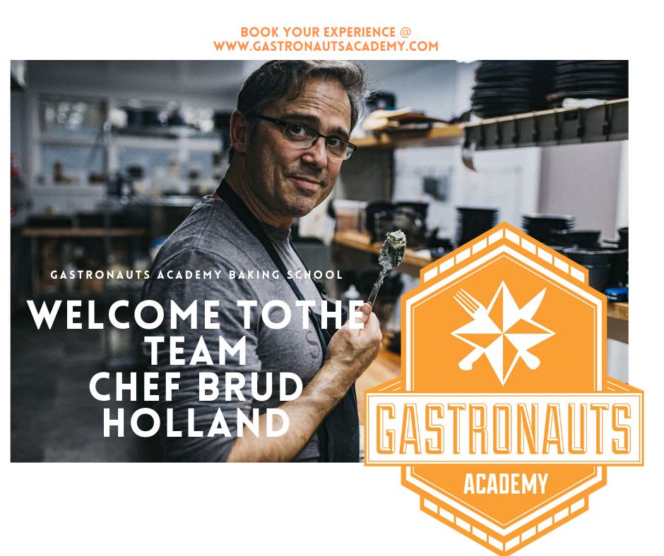 Chef Brud Holland Joins Instructors Team.