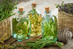 Making flavorful cooking oils
