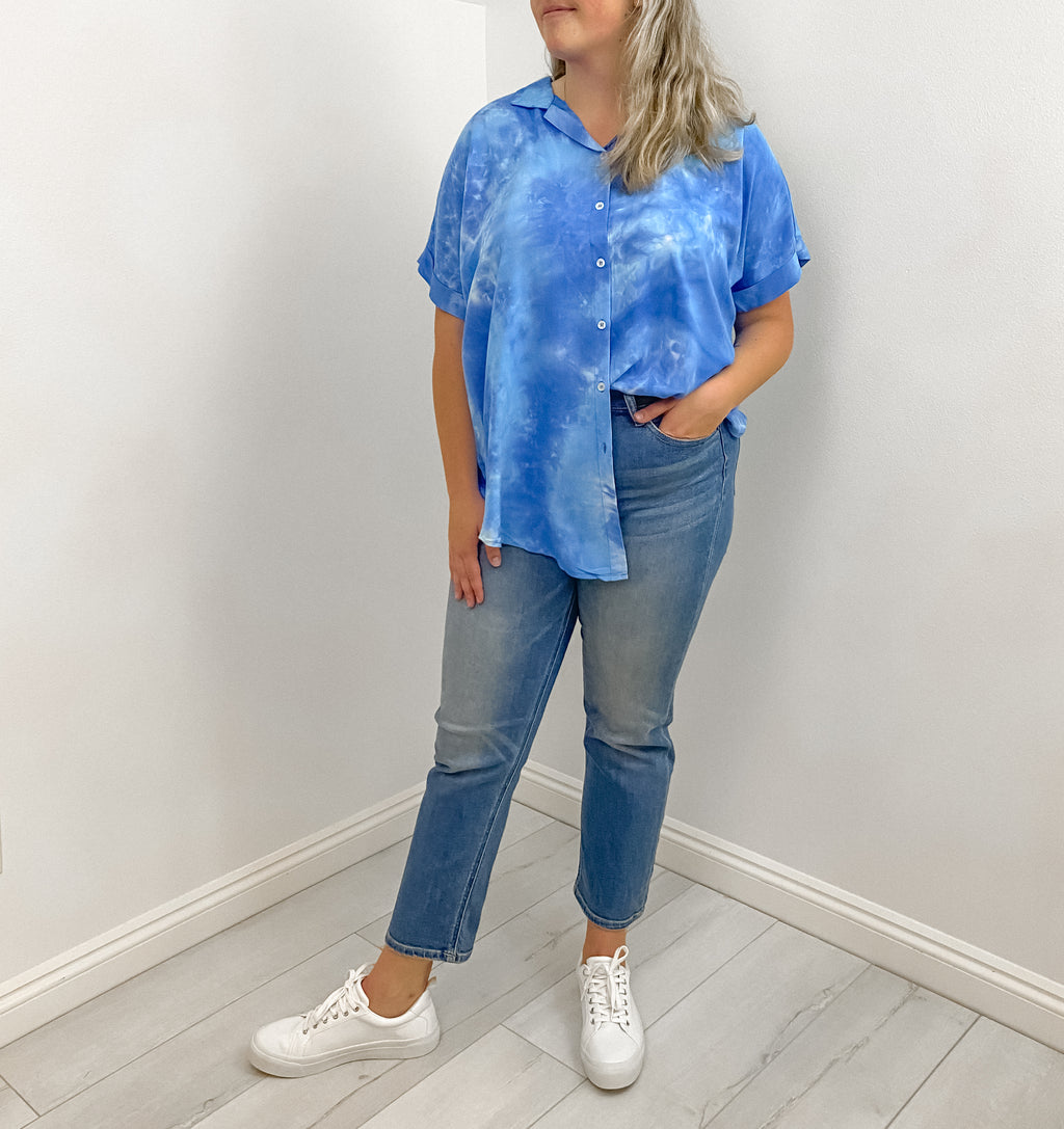 MAYER TIE-DYE TOP