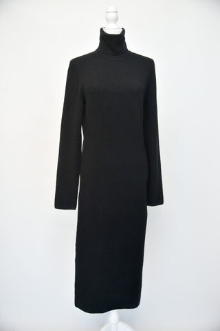 Donna Karan Cashmere Turtleneck Maxi Dress