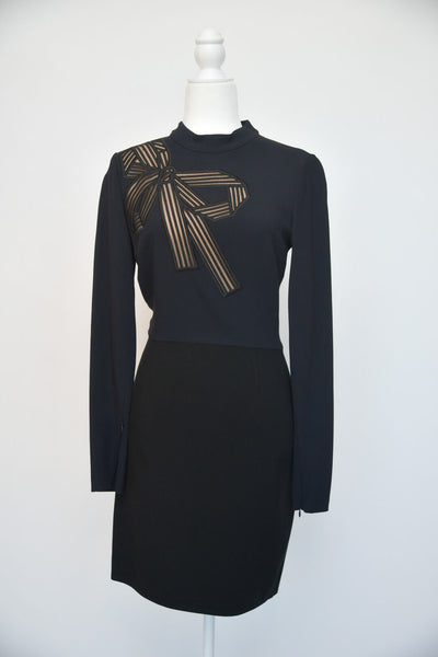 Stella Mccartney Bow Long Sleeve Dress