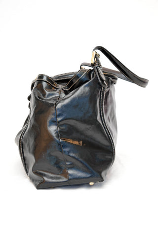 Gucci Patent Leather Bag with Large G