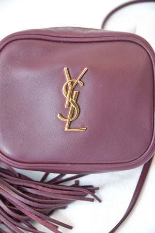 Saint Laurent YSL Monogram Blogger Bag