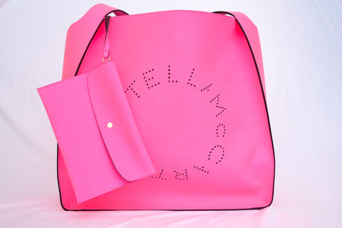 Stella McCartney Oversized Neon Pink