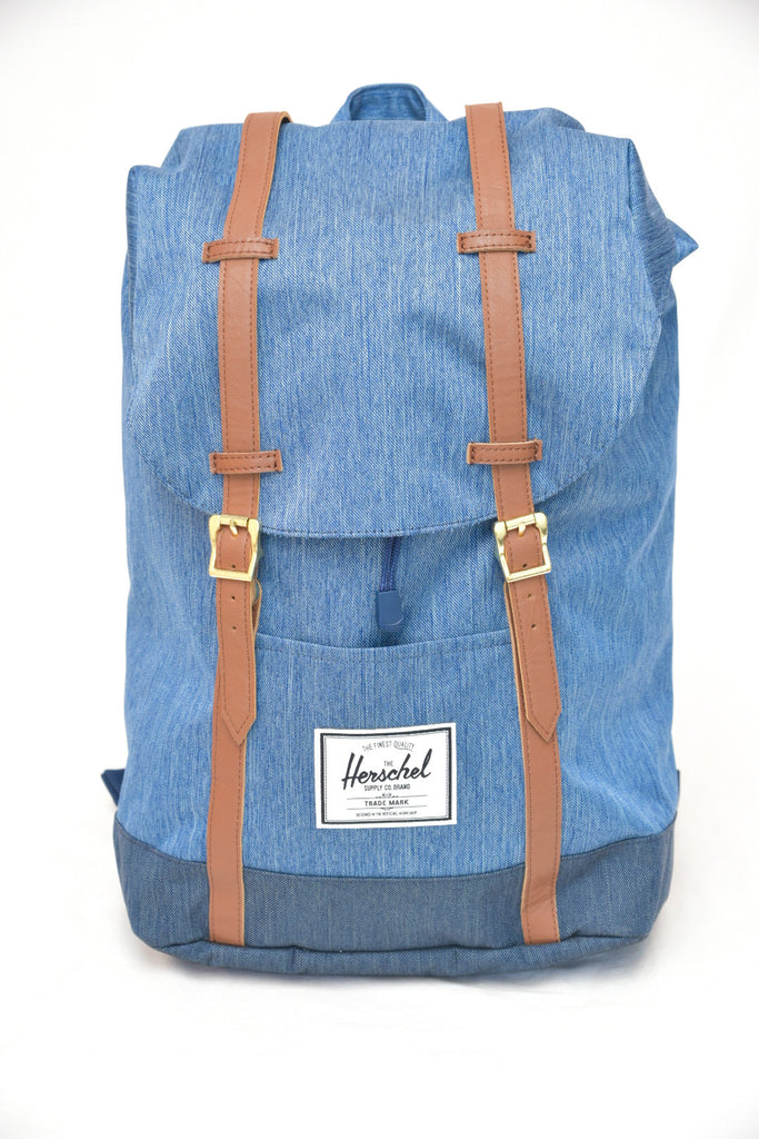 Herschel Faded Indigo Denim