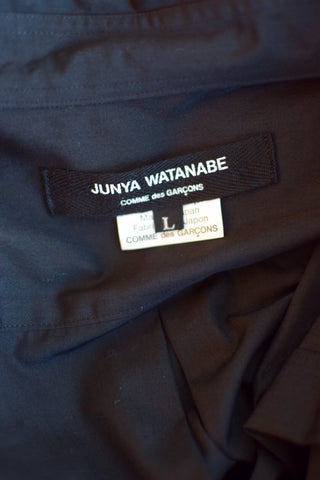 Junya Watanabe Long Sleeved Black Shirt