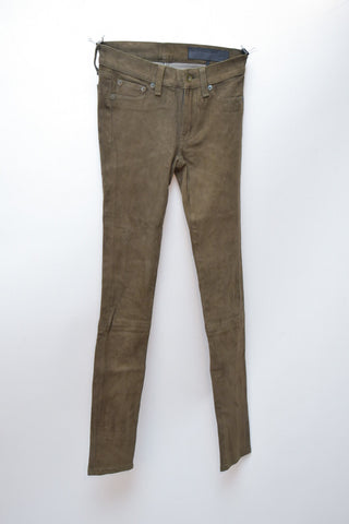 Rag and Bone Suede Pant