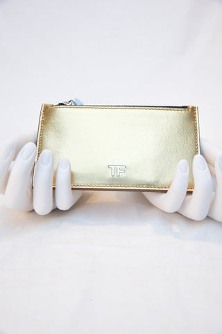 Tom Ford Zip Pouch Card Holder